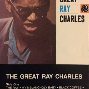 the great ray charles sealed CASSETTE